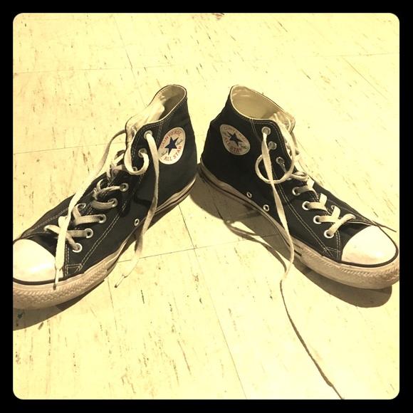 3f58dc8e2ff Converse Shoes   Mens Size 11 Black Chuck Taylor High   Poshmark